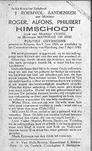 Roger-Alfons-Philibert Himschoot