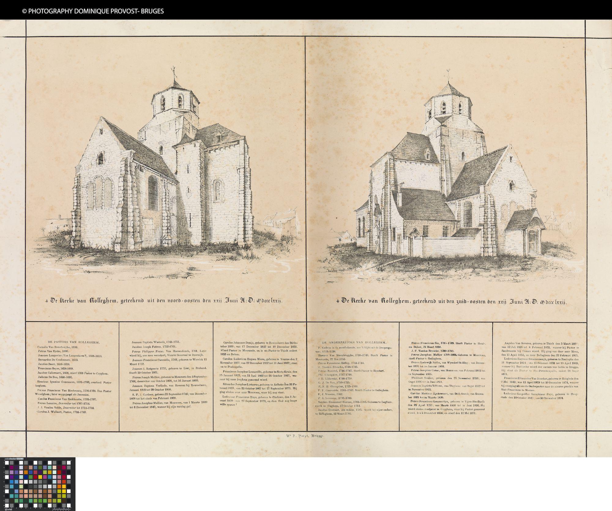 Westflandrica - Rollegem, Sint-Antoniuskerk