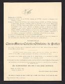 Clara-Marie-Colette-Ghislaine de Potter