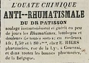 L' OUATE CHIMIQUE ANTI-RHUMATISMALE