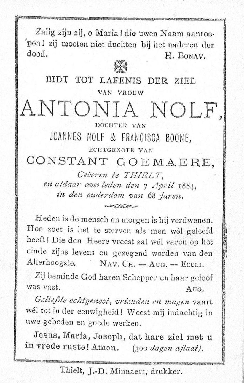 Antonia Nolf