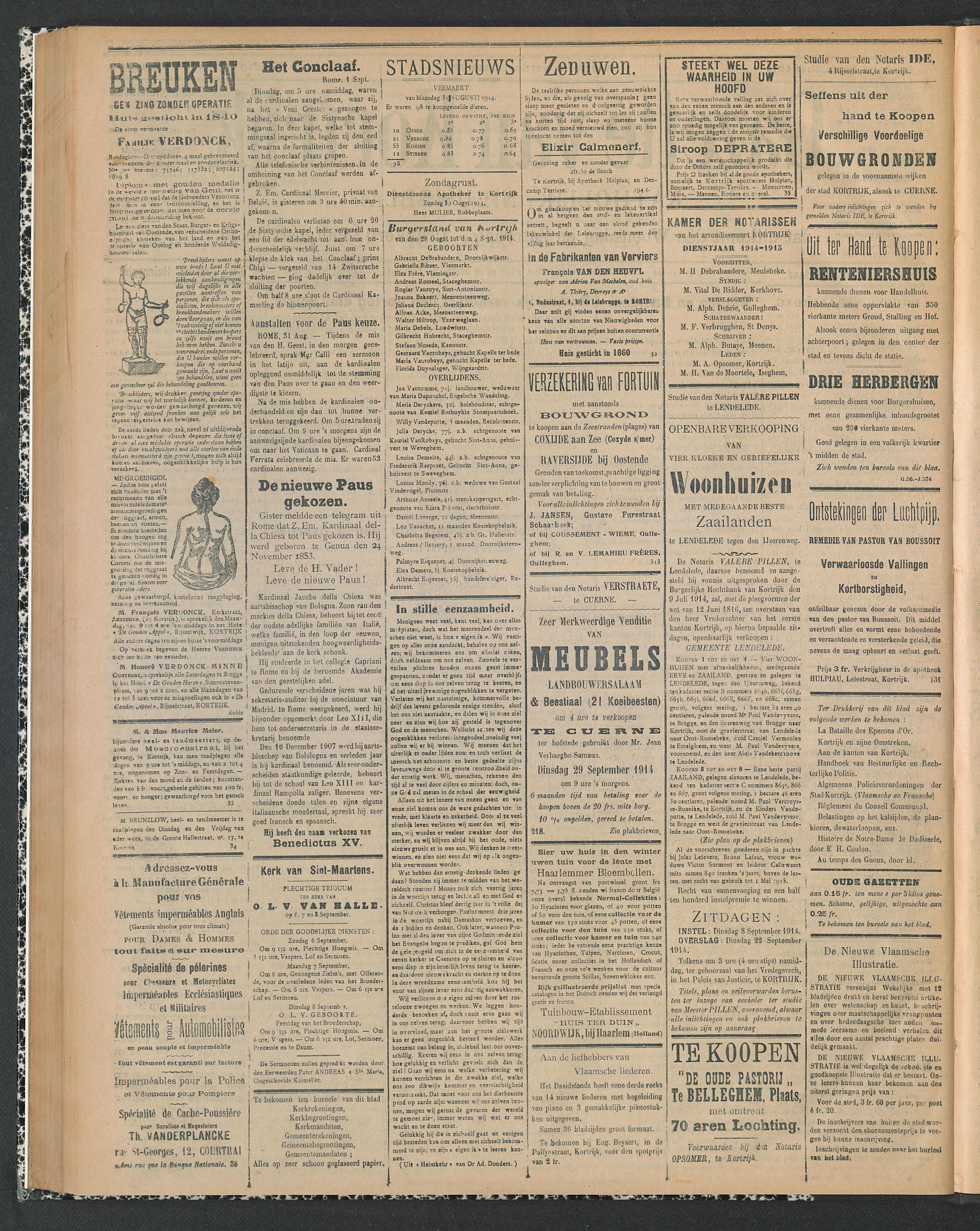 Gazette Van Kortrijk 1914-09-06 p2