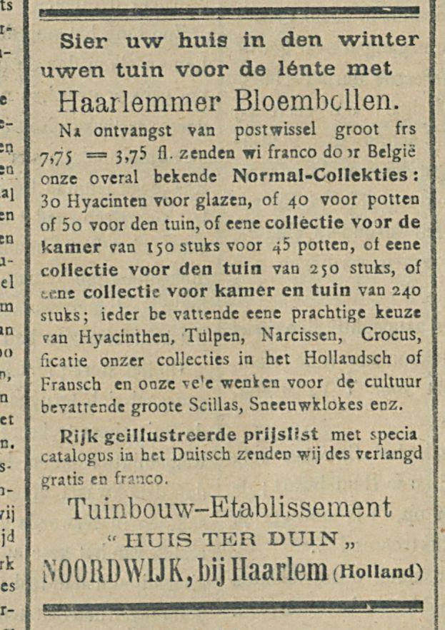 Haarlemmer Bloembellen