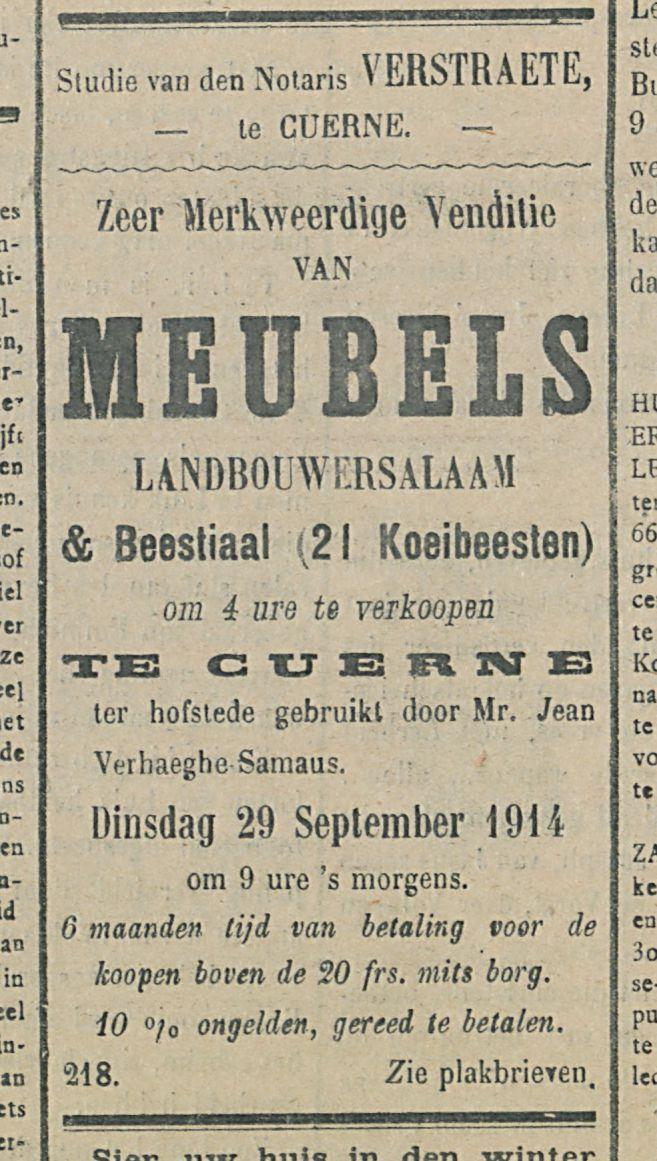 MEUBELS
