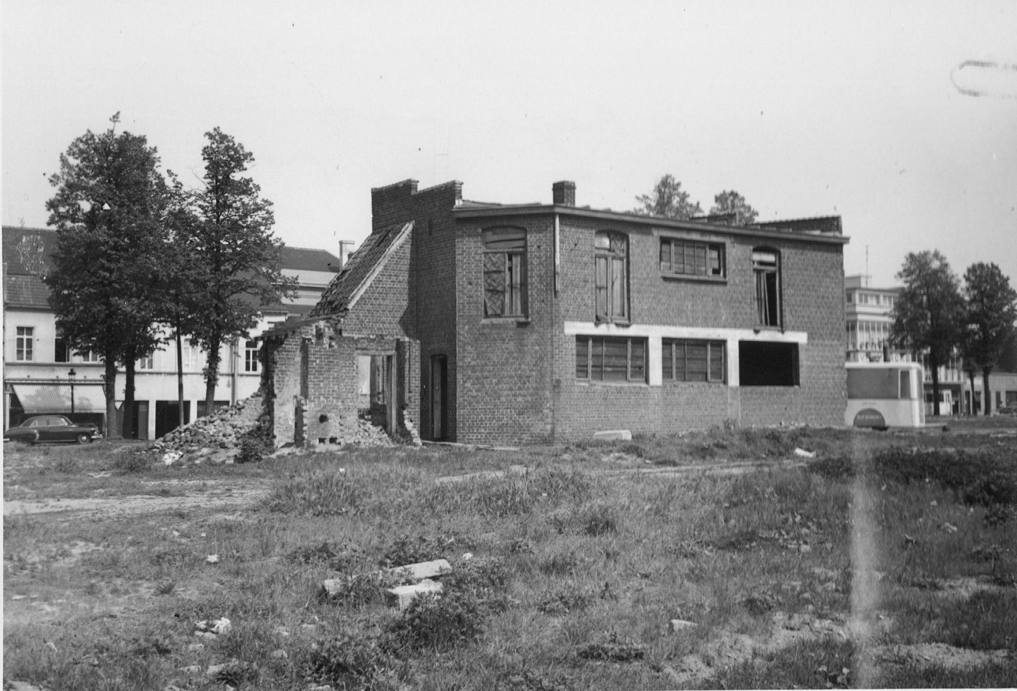 Conservatoriumplein (het vroegere Oud Gevangenisplein) 1970