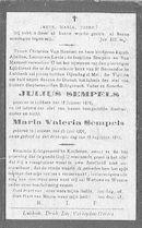 Julius en Maria-Valeria Sempels