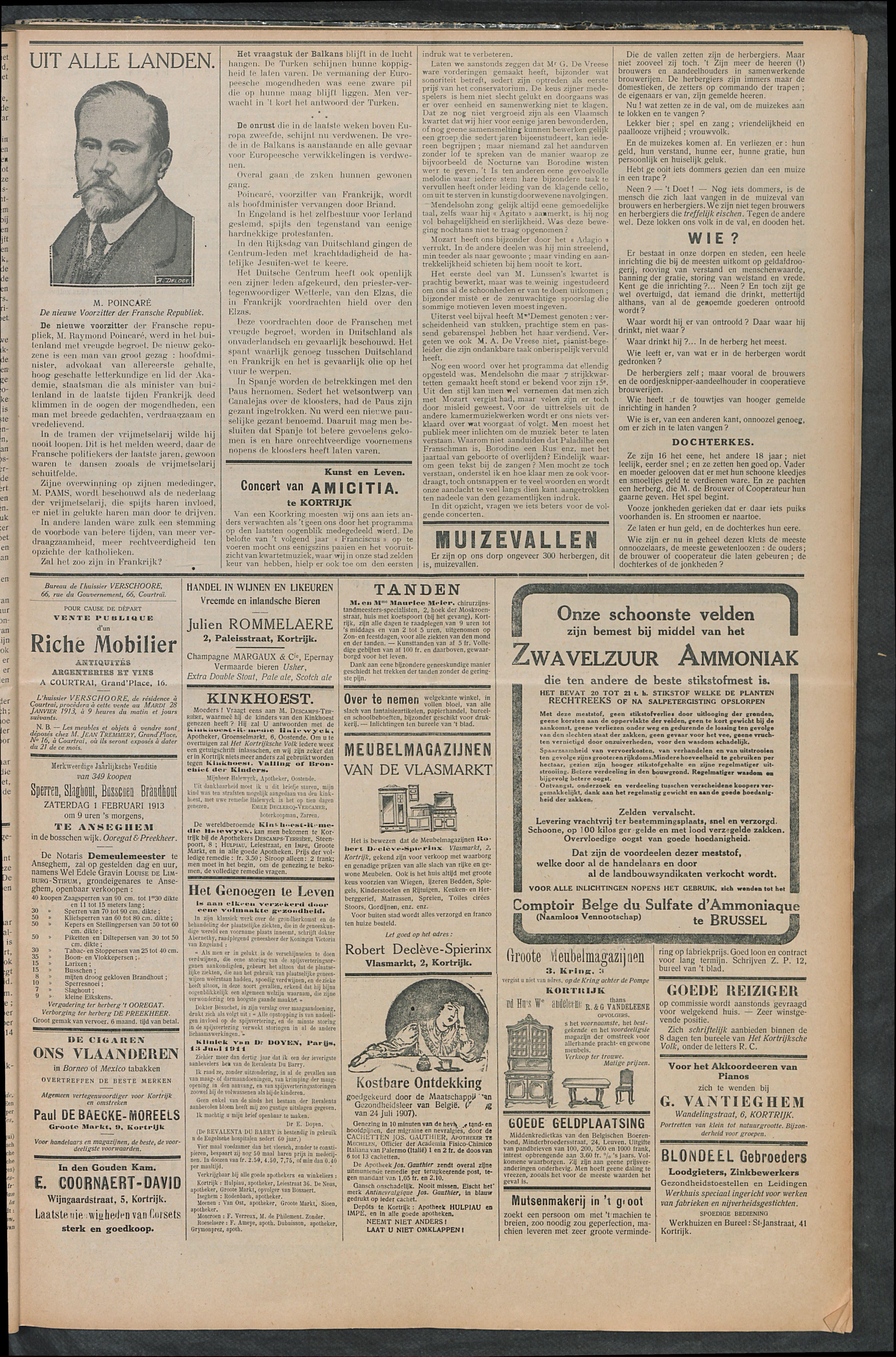 Het Kortrijksche Volk 1913-01-26 p5