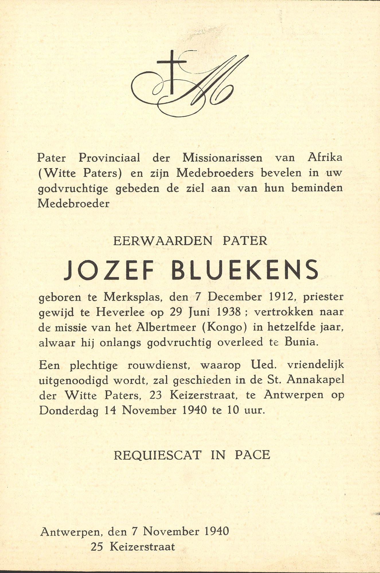 Jozef Bluekens