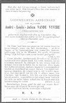 André-Louis-Julien Vande Vyvere