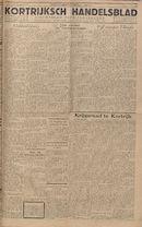 Kortrijksch Handelsblad 30 november 1945 Nr96