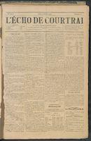 L'echo De Courtrai 1898-02-03