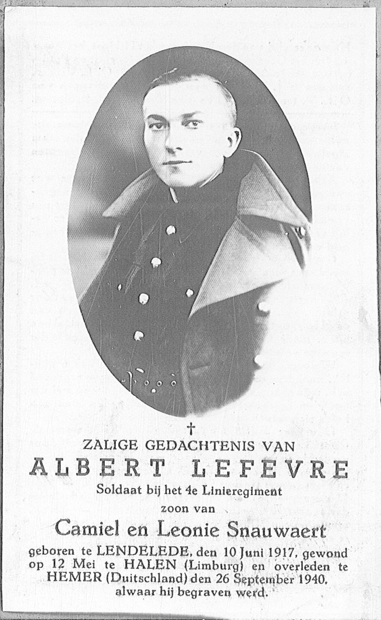 Albert Lefevre