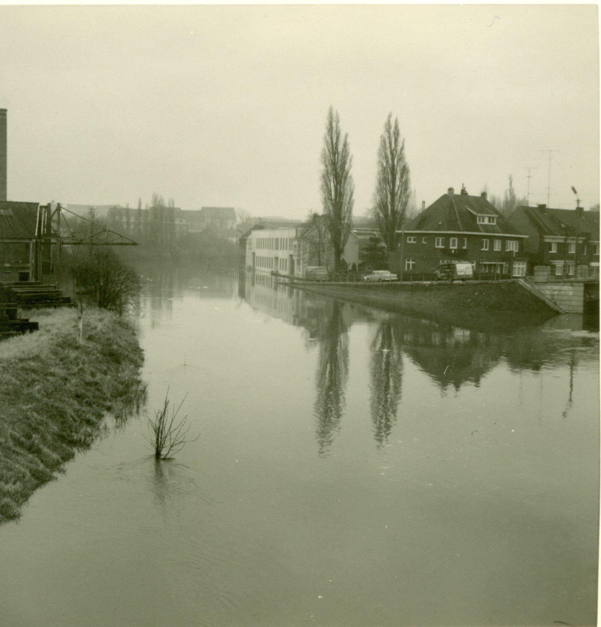 Damkaai vloed van de Leie 1966