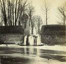Stadswallen nabij de Dam