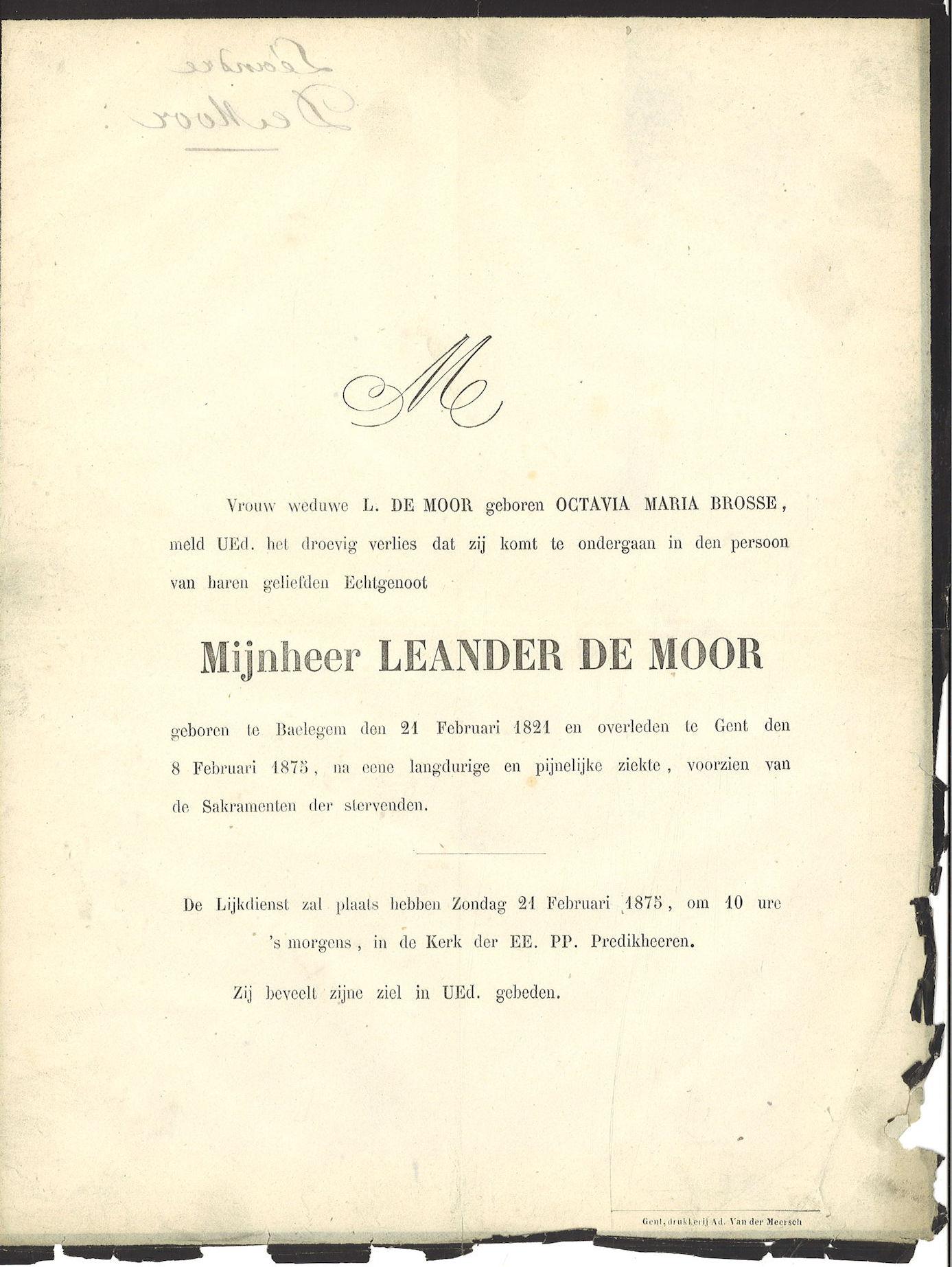Leander De Moor