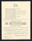 Charles-Auguste De Myttenaere