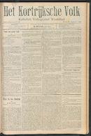 Het Kortrijksche Volk 1910-09-18