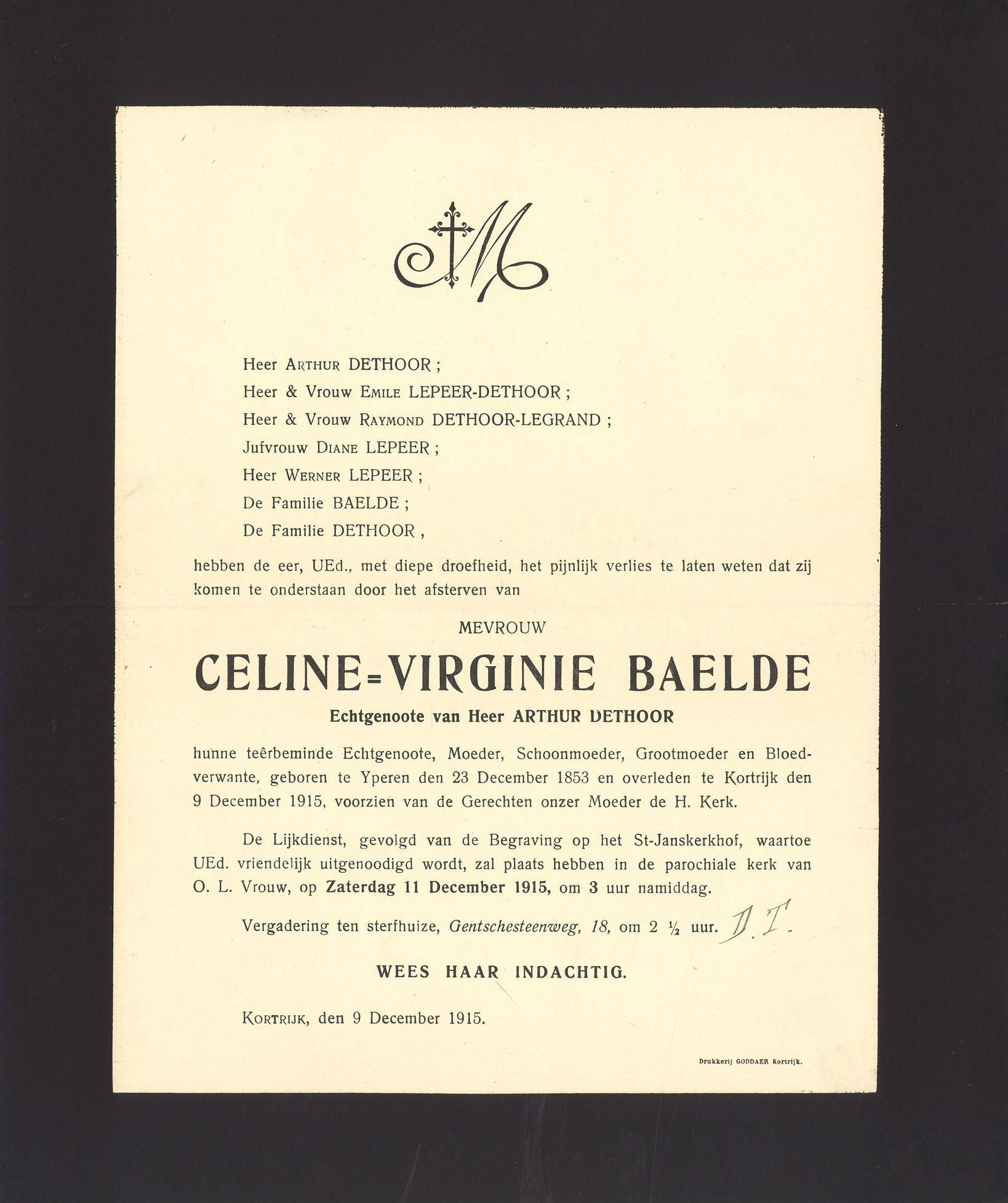 Celine-Virginie Baelde