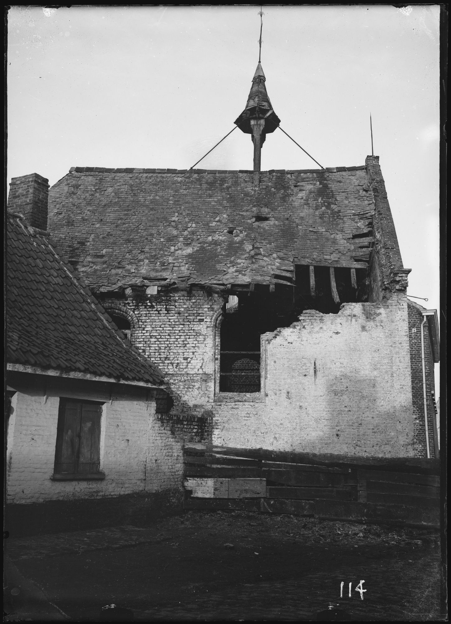 Kapel van Walle in 1895