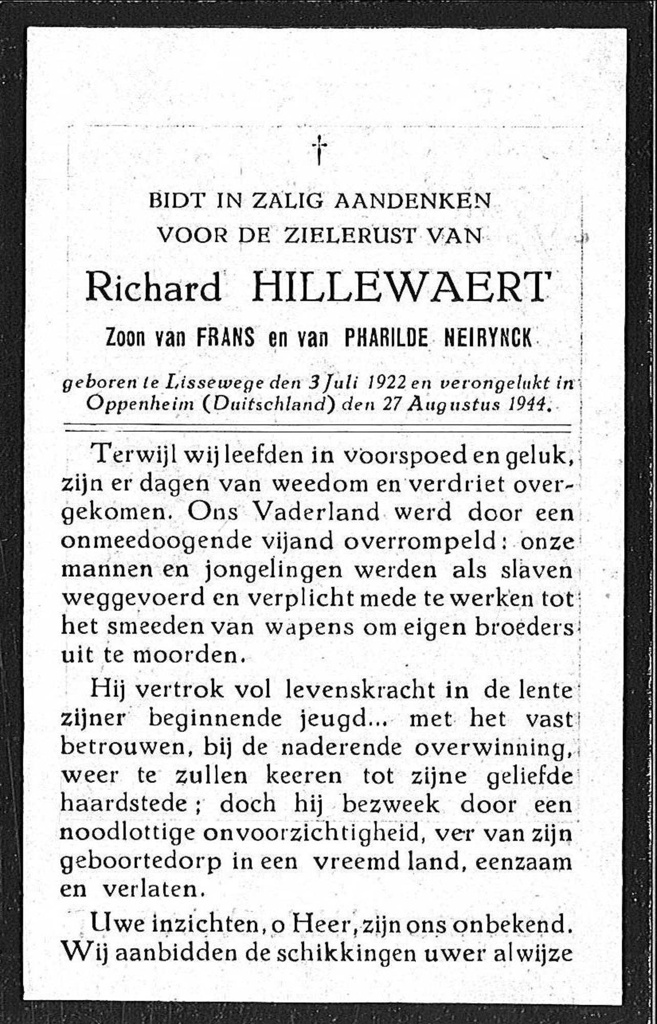 Richard Hillewaert