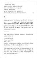Dorine Vandenheede