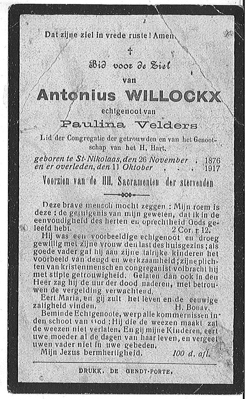 Antonius Willockx