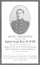 Raphael Joseph Marie De Puydt