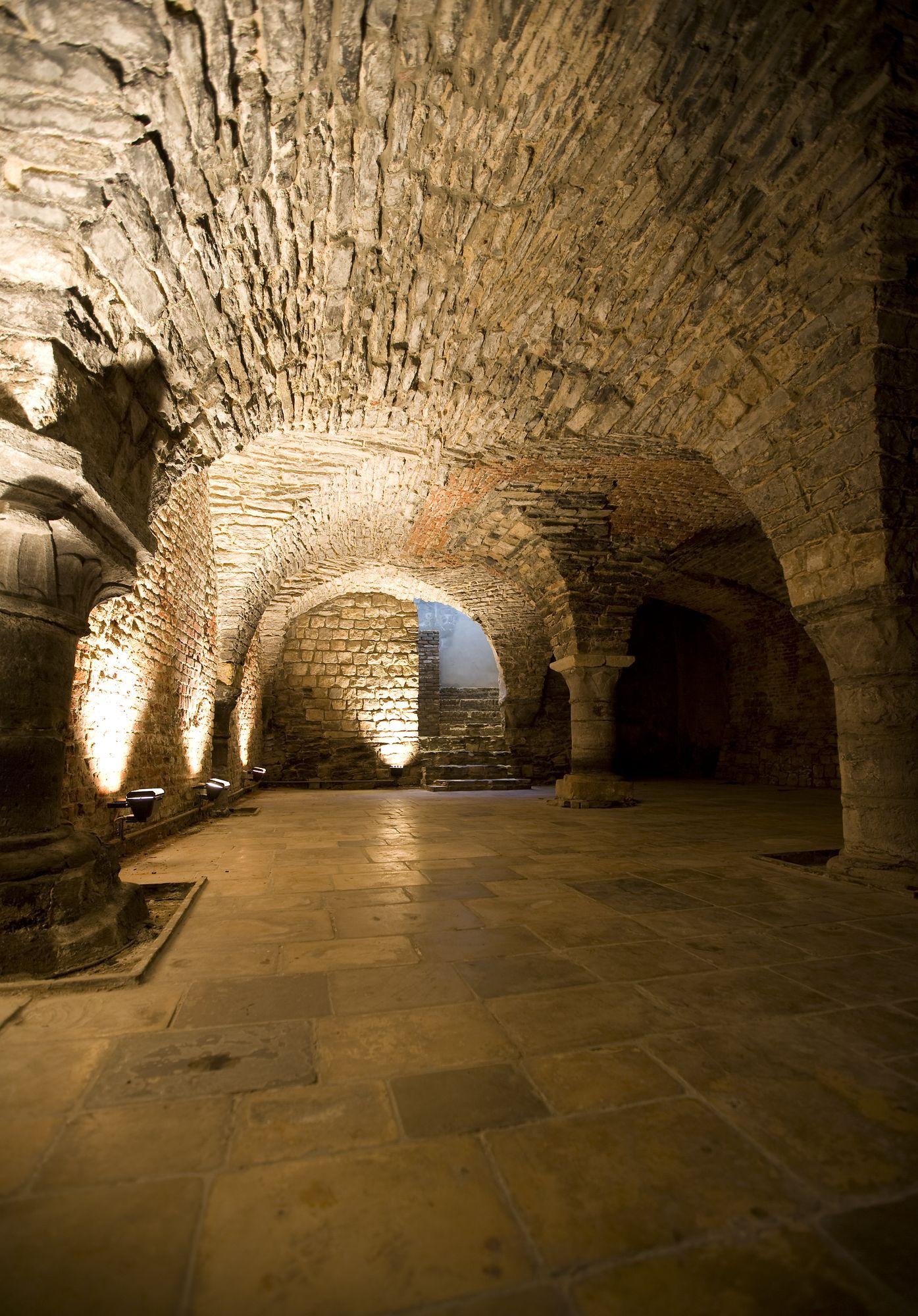 middeleeuwse kelder