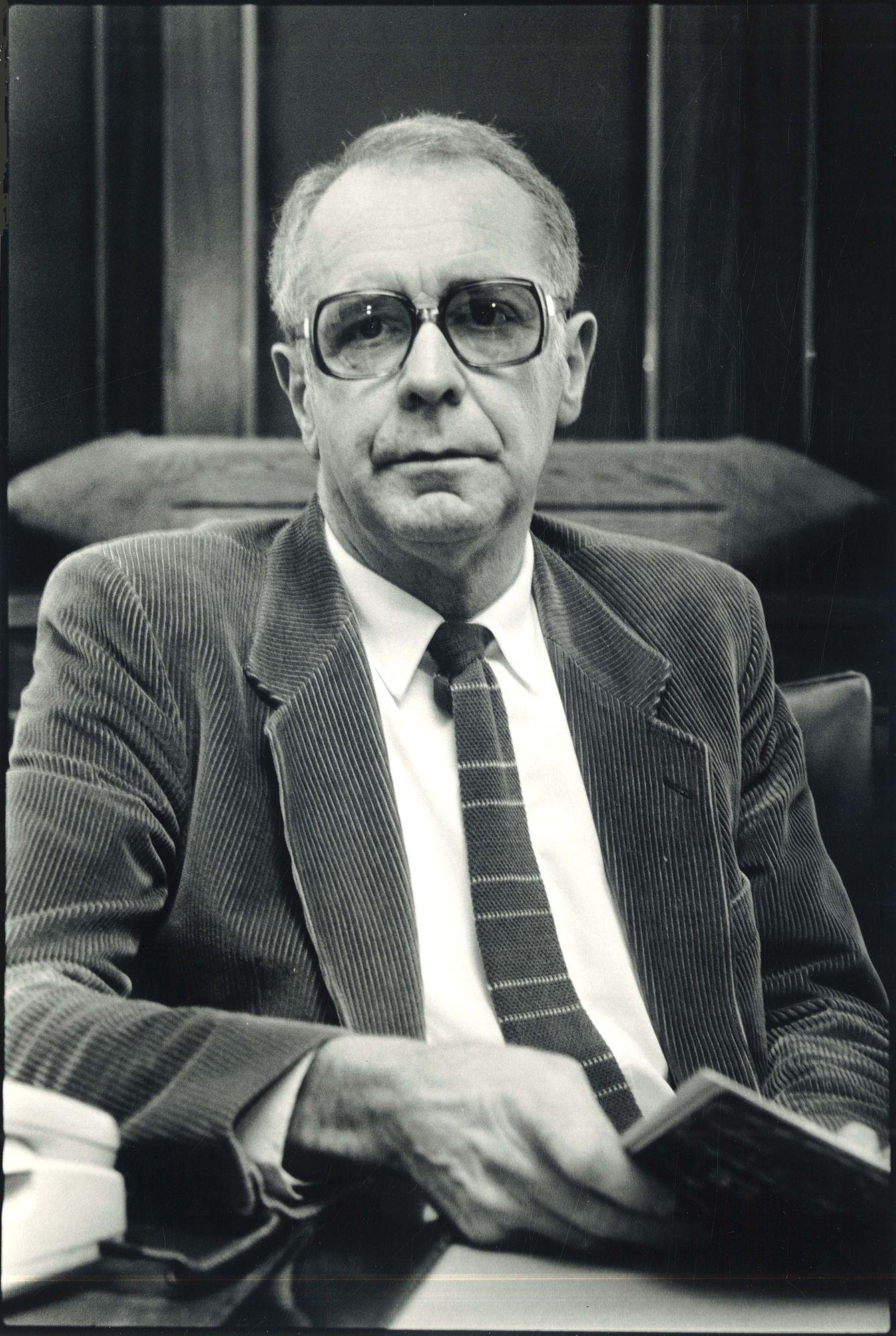 De heer Hector Ovaert 1986