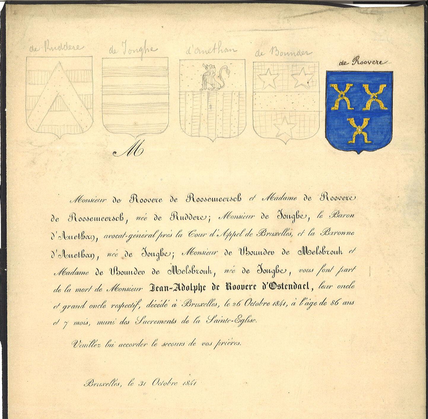 Jean-Adolphe de Roovere d' Ostendael