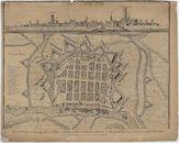 Westflandrica - Nieuwpoort, stadsplan