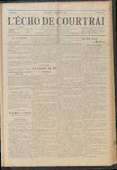 L'echo De Courtrai 1914-09-06