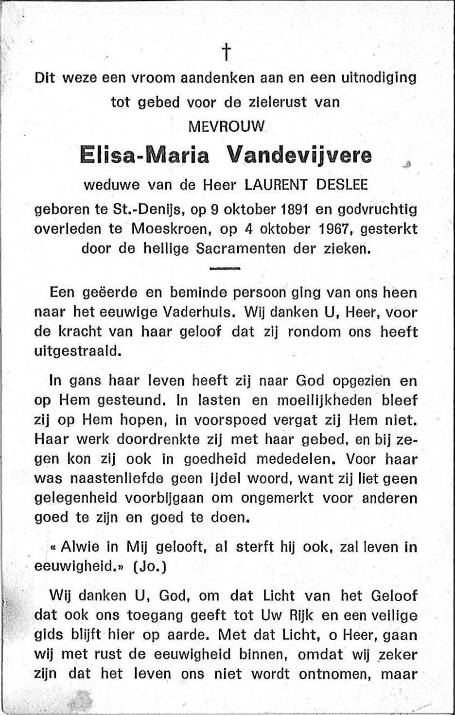Elisa-Maria Vandevijvere
