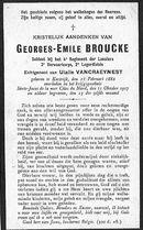 Georges-Emile Broucke