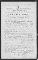 Prosper-Merie-Pierre-Auguste Van Raemdonck.