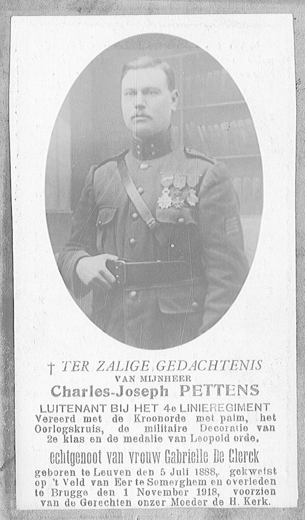 Pettens Charles-Joseph