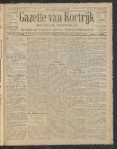 Gazette Van Kortrijk 1910-10-23 p1