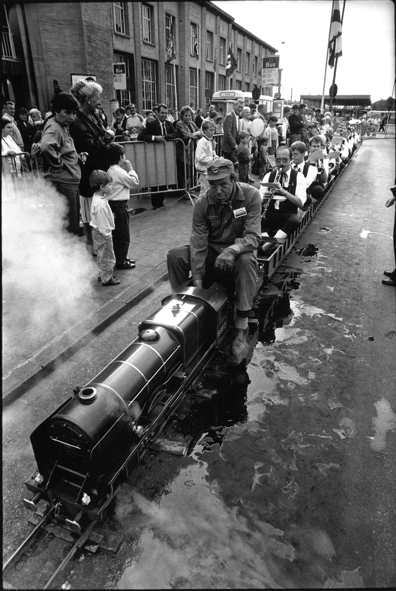 150 jaar spoorweg - minitrein