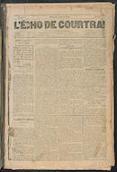 L'echo De Courtrai 1888-01-01