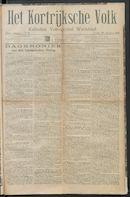 Het Kortrijksche Volk 1914-08-30