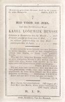 Buysse Karel Lodewijk