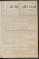 L'echo De Courtrai 1910-08-18