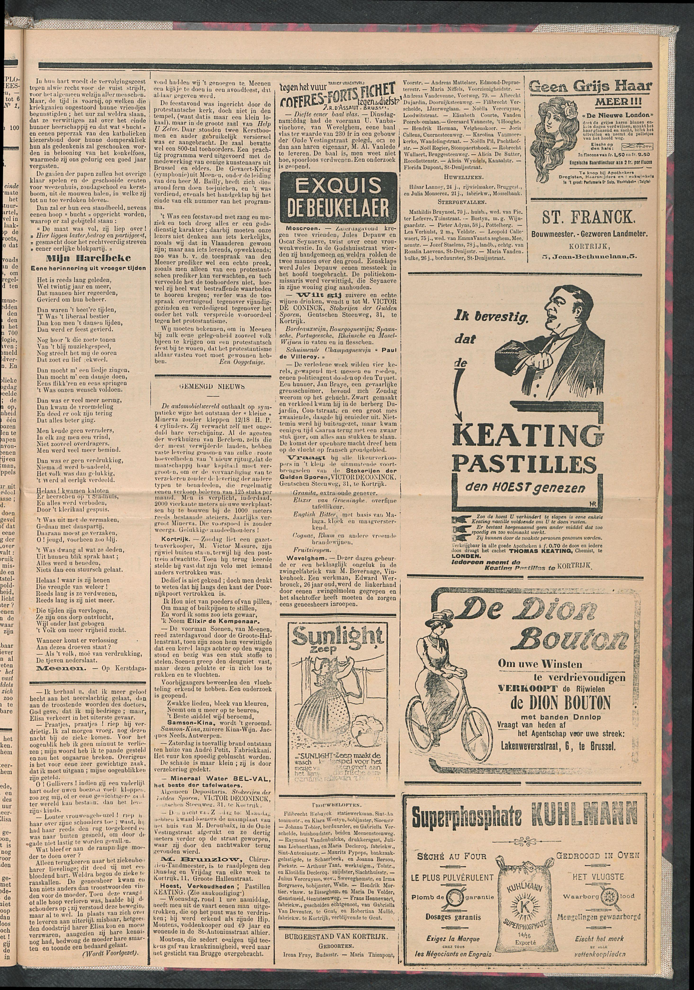 De Stad Kortrijk 1911-12-30 p3