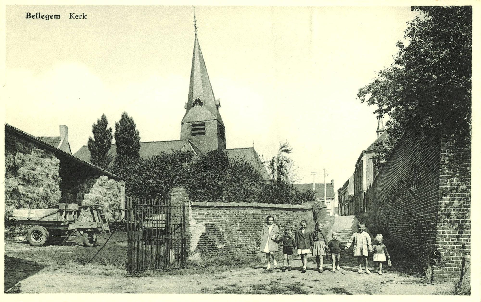 Walleweg: Bellegem Sint-Amanduskerk