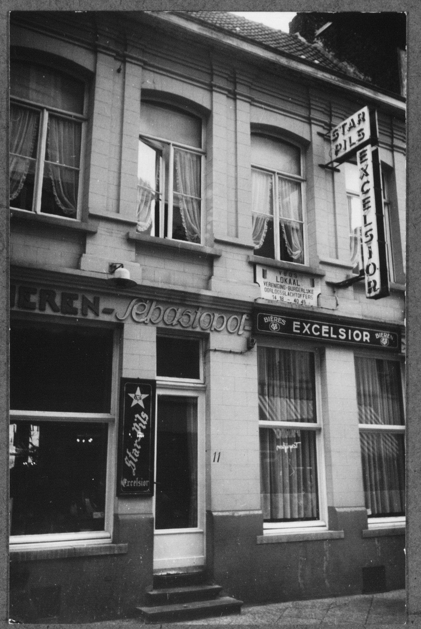 Café Sébastopol in de Korte Steenstraat