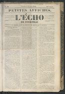 L'echo De Courtrai 1849-04-27