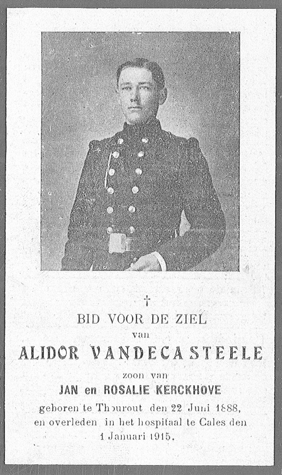 Alidor Vandecasteele
