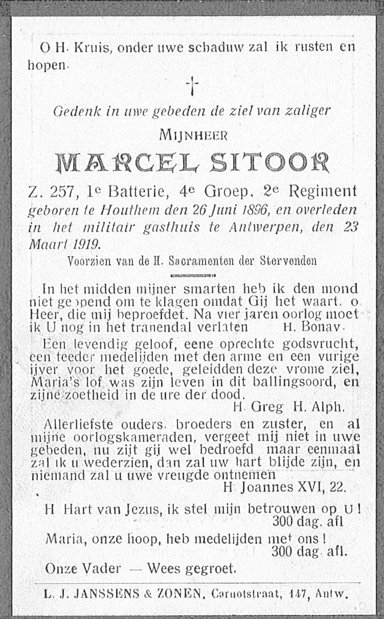 Marcel Sitoor
