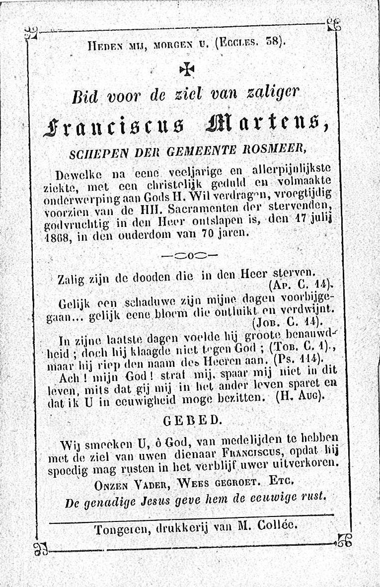 Franciscus Martens