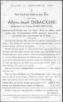 Alfons-Jozef Debackere